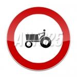 Accesul interzis tractoarelor si masinilor autopropulsate pentru lucrari