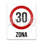 Zona cu viteza limitata la 30 km/h