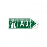 Directia catre autostrada indicata