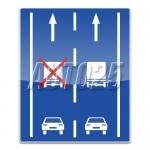 Organizarea traficului pe benzi de circulatie